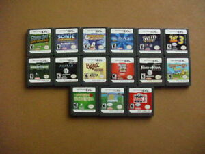 FOR SALE 25  DS GAMES NO CASES NO BOOKS.