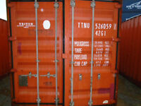CONTAINERS / SEACANS IN VANCOUVER - BLOW OUR OF 40FT USED 2690.0