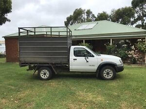 Nissan Navara Tray Ute with Cattle Crate Warrnambool Warrnambool City Preview