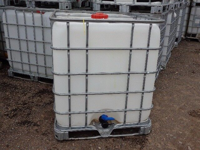 IBC 1000 Litre in ESSEX Water Butt Waste oil Tank Marquee Anchor HGV Weight Portaloo Waste Container
