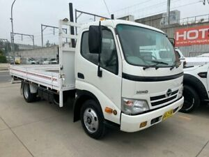 2007 Hino 300 616 Medium White Cab Chassis 3.0l Granville Parramatta Area Preview