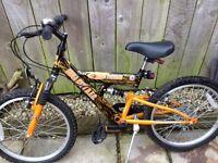 Hull City Premier League Kids Mountain Bike