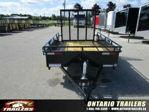 *SALE* SURE-TRAC 5'X8' STEEL HIGH SIDE TRAILER