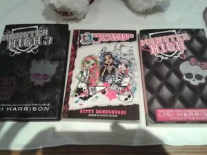 Monster High Books- Hard -Soft Cover- Chicken Soup for PRETEEN