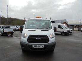Ford Transit 2.2 Tdci 125Ps Heavy Duty Chassis Cab DIESEL MANUAL WHITE (2016)