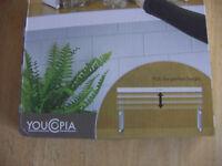 ADJUSTABLE SHELF YOUCOPIA STOREMORE 2 NEW UNOPENED EXPANDABLE HEIGHT KITCHEN BATHROOM STORAGE