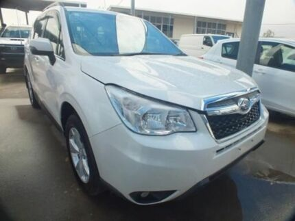 2014 Subaru Forester MY13 2.5I-L White Continuous Variable Wagon