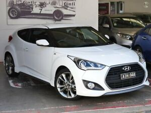 2016 Hyundai Veloster FS4 Series II SR Coupe D-CT Turbo White 7 Speed Sports Automatic Dual Clutch Doncaster Manningham Area Preview
