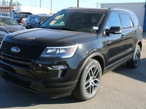 2019 Ford Explorer SPORT, 400A, 3.5L ECOBOOST, 4WD, SYNC3, NAV,