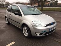 2004 Ford Fiesta Silver special edition leather interior 12 months mot