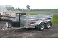 2016 K-Trail 6x12 HD  5  Ton  Dump Trailer ( NO MORE RUST )