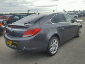 Vauxhall Insignia Tailgate in Grey inc Glass 2011