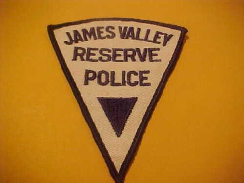 JAMES VALLEY SOUTH DAKOTA RESERVE POLICE PATCH SHOULDER SIZE NEW