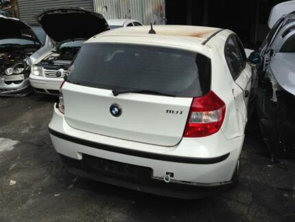 BMW 118I E87 WRECKING COMPLETE CAR FOR PARTS BMW PARTS SYDNEY North Parramatta Parramatta Area Preview