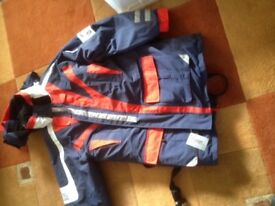 water proofs /flotation suit