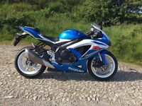 Suzuki GSXR 600 K9 with only 468 miles from new