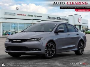 2016 Chrysler 200 S AWD V6 with Heated Seats