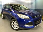 2015 Ford Kuga TF MY16 Trend PwrShift AWD Blue 6 Speed Sports Automatic Dual Clutch Wagon Elizabeth Playford Area Preview