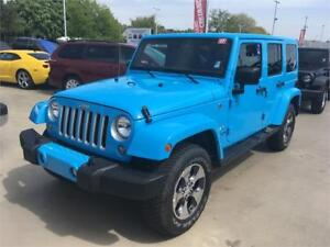 2017 JEEP WRANGLER UNLIMITED SAHARA chief edition just 8700 km