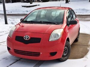2008 Toyota Yaris Hatchback - very reliable with low kilometers!