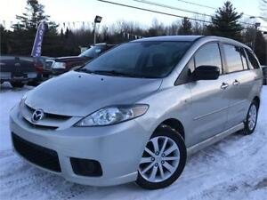 2006 MAZDA 5 GS MANUELLE + MAGS + 6 PASSAGERS + GR. ELECT.