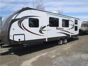 31 foot bunkhouse travel trailer rv for rent. Brand  new!!