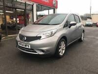 Nissan Note Tekna Dig-S PETROL MANUAL 2014/64