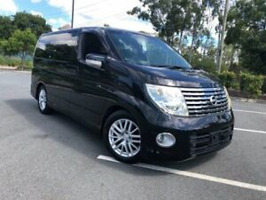 2005 Nissan Elgrand E51 Series 2 Highway Star Black 5 Speed Automatic Wagon Arundel Gold Coast City Preview