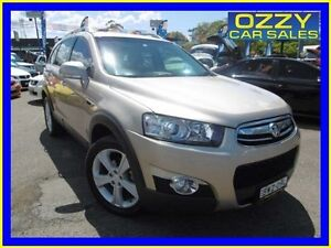 2011 Holden Captiva CG Series II 7 LX (4x4) Champagne 6 Speed Automatic Wagon Penrith Penrith Area Preview