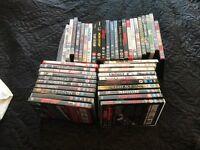 Parcel of 43 DVDs
