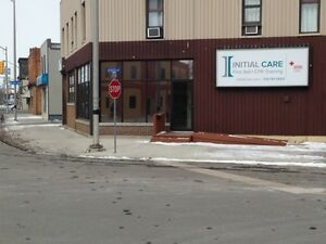 St. Clair Street Corner near Hospital