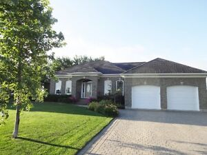 Amazing drop back bungalow directly on golf course.