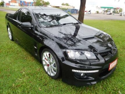 2012 Holden Special Vehicles Maloo E Series 3 MY12.5 R8 Black 6 Speed Manual Utility