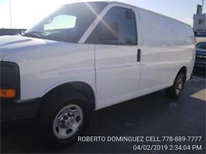 2013 Chevrolet Express Cargo Van 2500 ONLY 101,800 KMS