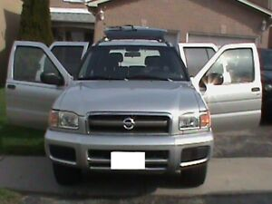 2003 NISSAN PATHFINDER CHILKOOT **** LOW LOW LOW KM **** 4 X 4