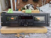Denon DN-770R Twin tape deck. Rack mount.
