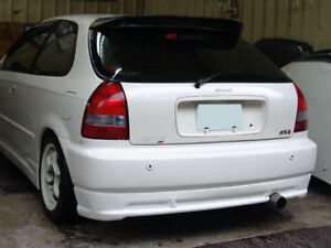 96-00 Civic 3D Mugen Rear Lip (ABS)