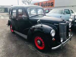 1951 Ford Prefect Black 3 Speed Manual Sedan Woodville Park Charles Sturt Area Preview