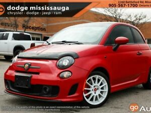 2015 Fiat 500 ABARTH+Turbo+SUNROOF+LEATHER+LOADED