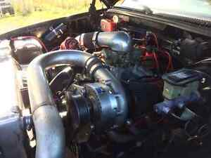 830 DYNOED HP PROCHARGER BBC TURBO 400 , GEAR VENDOR O/D