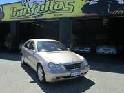 2003 Mercedes-Benz C180 Kompressor Gold 5 Speed Auto Active Sequential Sedan O'Connor Fremantle Area Preview