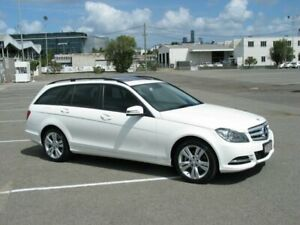 2013 Mercedes-Benz C200 W204 MY13 BE White 7 Speed Automatic G-Tronic Wagon Albion Brisbane North East Preview