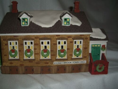 Department 56 Stoney Brook Town Hall 56448
