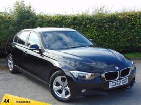 2012 62 BMW 3 SERIES 2.0 320D EFFICIENTDYNAMICS 4D DIESEL