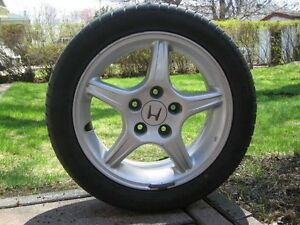 "4x Acura / Honda Enkei ""5-Spoke"" Prelude Type SH Mag (5x114.3mm)"