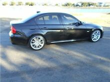2010 BMW 320D E90 MY10.5 Lifestyle Steptronic Black 6 Speed Sports Automatic Sedan Hamilton East Newcastle Area Preview