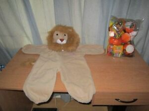 Halloween Costumes Lion King, Size 18-24M & Halloween Package