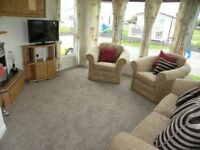 Static caravan 6 berth 2 bedroom sited on Withernsea Sands Holiday Park East Coast of Yorkshire