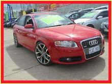 2006 Audi A4 B7 S Line Red 7 Constantly Variable Transmission Sedan Holroyd Parramatta Area Preview