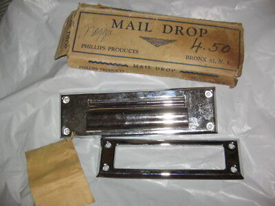 - NEW VINTAGE PHILLIPS PRODUCTS  MAIL DROP, MAIL SLOT, NEW IN ORIGINAL BOX, USA